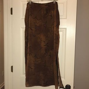 Classifies Entier straight skirt